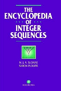 The Encyclopedia of Integer Sequences, 1st Edition,N. Sloane,Simon Plouffe,ISBN9780125586306