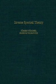 Cover image for Inverse Spectral Theory