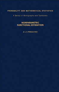 Nonparametric Functional Estimation - 1st Edition - ISBN: 9780125640206, 9781483269238