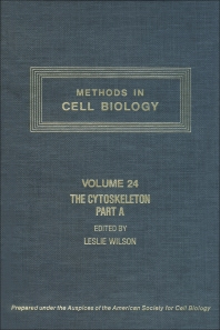 The Cytoskeleton, Part A - 1st Edition - ISBN: 9780125641241, 9780080859224