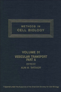 Cover image for Vesicular Transport, Part A