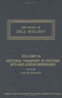 Vectorial Transport of Proteins into and across Membranes - 1st Edition - ISBN: 9780125641340, 9780080859323