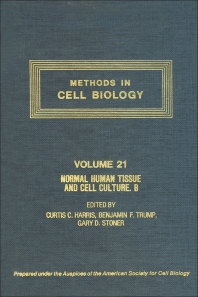 Cover image for Normal Human Tissue and Cell Culture, Part B