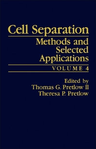 Cell Separation - 1st Edition - ISBN: 9780125645041, 9781483219417