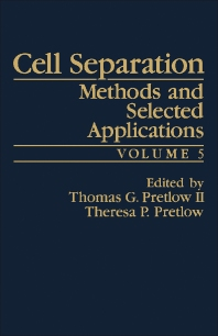 Cell Separation - 1st Edition - ISBN: 9780125645058, 9781483219424