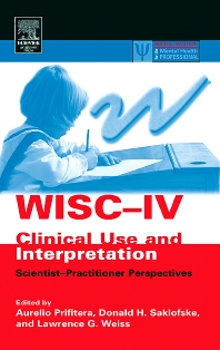Cover image for WISC-IV Clinical Use and Interpretation