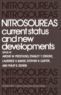 Nitrosoureas - 1st Edition - ISBN: 9780125650601, 9781483219448