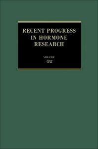 Cover image for Recent Progress in Hormone Research