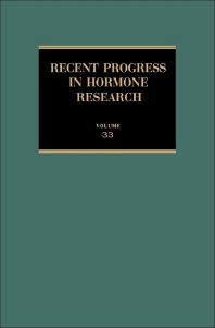 Recent Progress in Hormone Research - 1st Edition - ISBN: 9780125711333, 9781483219530
