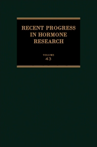 Recent Progress in Hormone Research - 1st Edition - ISBN: 9780125711432, 9781483219639