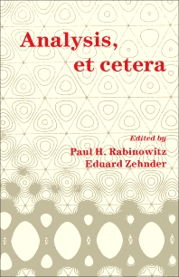 Analysis, et Cetera - 1st Edition - ISBN: 9780125742498, 9781483268866