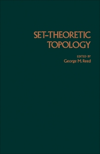 Set-Theoretic Topology - 1st Edition - ISBN: 9780125849500, 9781483263922