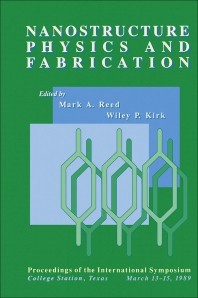 Nanostructure Physics and Fabrication - 1st Edition - ISBN: 9780125850001, 9780323138956
