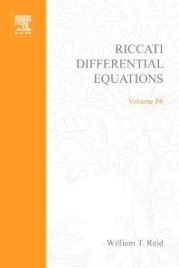 Cover image for Riccati Differential Equations