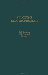 Cover image for Allozyme Electrophoresis