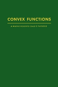 Cover image for Convex functions