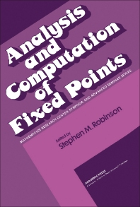 Analysis and Computation of Fixed Points - 1st Edition - ISBN: 9780125902403, 9781483266022