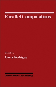 Parallel Computations - 1st Edition - ISBN: 9780125921015, 9781483276649