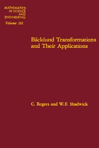 Cover image for Ba?cklund Transformations and Their Applications