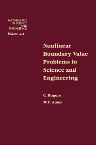 Cover image for Nonlinear Boundary Value Problems in Science and Engineering