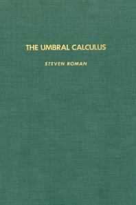 The Umbral Calculus - 1st Edition - ISBN: 9780125943802, 9780080874302