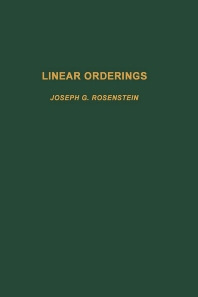 Linear Orderings - 1st Edition - ISBN: 9780125976800, 9780080874142