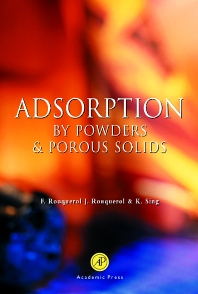 Adsorption by Powders and Porous Solids - 1st Edition - ISBN: 9780125989206, 9780080526010