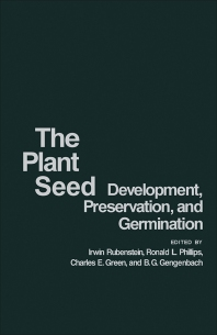 The Plant Seed - 1st Edition - ISBN: 9780126020502, 9781483271408