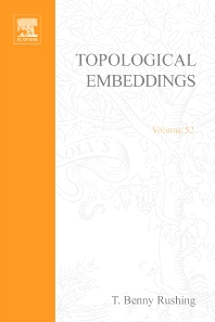 Cover image for Topological embeddings