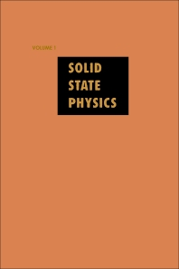 Solid State Physics - 1st Edition - ISBN: 9780126077018, 9780080864655