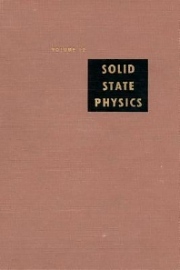Solid State Physics - 1st Edition - ISBN: 9780126077124, 9780080864761