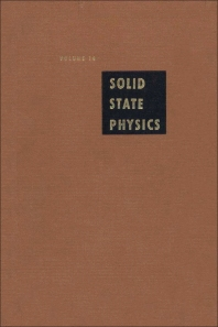 Solid State Physics - 1st Edition - ISBN: 9780126077148, 9780080864785