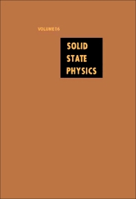 Solid State Physics - 1st Edition - ISBN: 9780126077162, 9780080864808