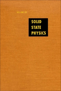 Solid State Physics - 1st Edition - ISBN: 9780126077230, 9780080864877