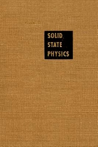 Solid State Physics - 1st Edition - ISBN: 9780126077308, 9780080864945