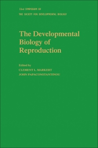 The Developmental Biology of Reproduction - 1st Edition - ISBN: 9780126129793, 9780323153973