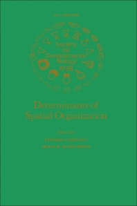 Determinants of Spatial Organization  - 1st Edition - ISBN: 9780126129830, 9780323154390