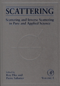 Scattering, Two-Volume Set - 1st Edition - ISBN: 9780126137606, 9780080540733