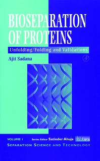 Bioseparations of Proteins, 1st Edition,Ajit Sadana,ISBN9780126140408