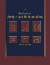 Cover image for Handbook of Analysis and Its Foundations