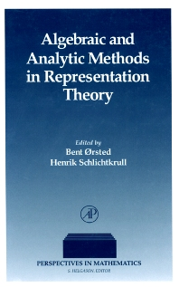 Cover image for Algebraic and Analytic Methods in Representation Theory
