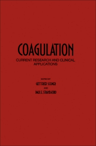 Coagulation - 1st Edition - ISBN: 9780126262506, 9780323159043