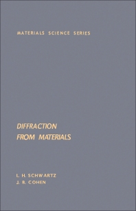Diffraction From Materials - 1st Edition - ISBN: 9780126325508, 9780323145527
