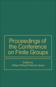 Proceedings of the Conference on Finite Groups - 1st Edition - ISBN: 9780126336504, 9781483261089