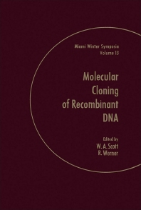 Molecular of Cloning of Recombinant Dna - 1st Edition - ISBN: 9780126342505, 9780323158725