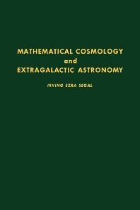 Cover image for Mathematical Cosmology and Extragalactic Astronomy