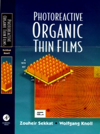 Cover image for Photoreactive Organic Thin Films