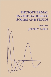 Photothermal Investigations of Solids and Fluids - 1st Edition - ISBN: 9780126363456, 9780323154222