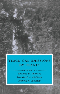 Cover image for Trace Gas Emissions by Plants