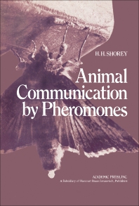 Animal Communication by Pheromones - 1st Edition - ISBN: 9780126404500, 9781483220239